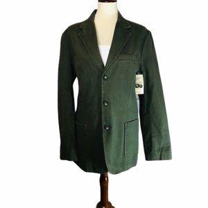 St John's Bay Army Green Blazer NWT